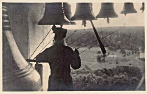 VALAMO FINLAND~MONASTERY BELL RINGER~SONNEUR de CLOCHES~ PHOTO POSTCARD