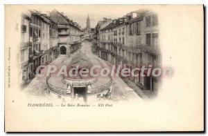 Old Postcard Plombieres Les Bains Romains
