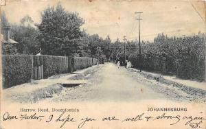 South Africa Johannesburg, Doornfontein, Harrow Road 1914