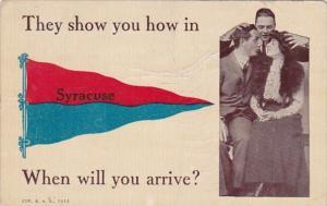 New York Syracuse Pennant Series 1913