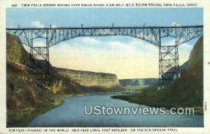 Jerome Bridge - Twin Falls, Idaho ID