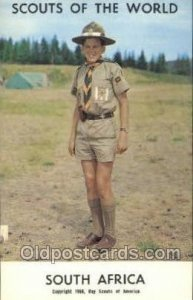 South Africa Boy Scouts of America, Scouting Copyright 1968 Unused