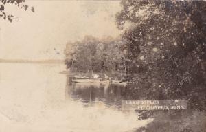 RP; Fishing Boats, Lake Ripley, Litchfield, Minnesota, 1900-10s