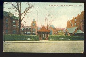 New York City, New York/NY Postcard, Little Church Around The Corner