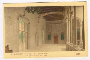 Diputacion, Capilla De San Jorge, Barcelona, Spain, 1900-1910s