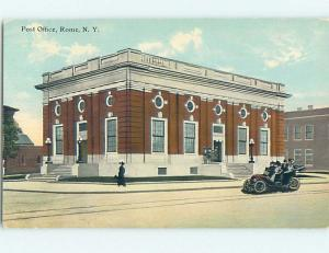Unused Divided Back POST OFFICE SCENE Rome New York NY hs1416