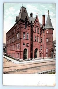 Postcard RI Valley Falls Catholic Institute 1907 View F23