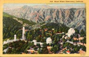 California Mount Wilson Observatory Curteich