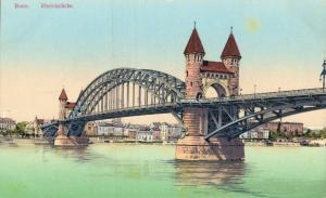 Germany Bonn Rheinbrücke 01.83