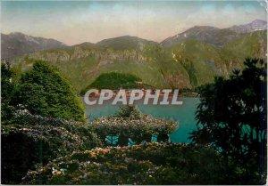 Postcard Modern Lake Como Villa Carlotta Ballagio visto dalla Villa Carlotta