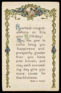 Heartiest congratulations on this, Your Birhtday!