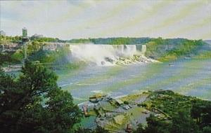 Canada A View Of The Niagara Gorge Showing The Waters Toured By the Maid Of T...