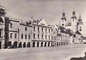 Czech Republic Telc Real Photo