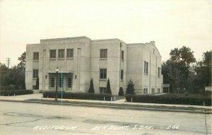 Auditorium Elkpoint South Dakota 1940s RPPC Photo #L-66 Postcard 20-6456