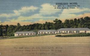 Dixieland Motel Marietta GA Unused