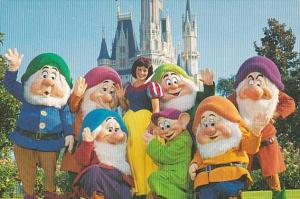 Orlando Walt Disney World Snow White and The Seven Dwarfs and Cinderella Castle