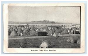 Postcard Refugee Camp near Presidio San Francisco CA 1906 Earthquake G27