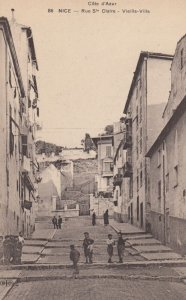 NICE , France , 1900-10s ; Rue Ste Claire - Vieille-Villa
