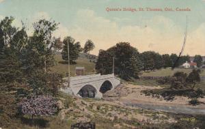 ST. THOMAS , Ontario , Canada , 1914; Queen's Bridge # 2