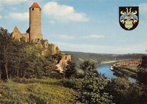 Burg Hornberg am Neckar, Neckarzimmern Burgrestaurant Castle River Panorama