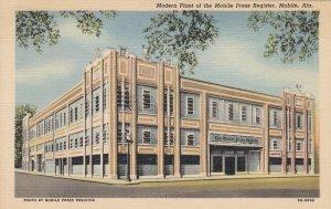 Alabama Mobile Modern Plant Of The Mobile Press Register 1948 Curteich sk4813