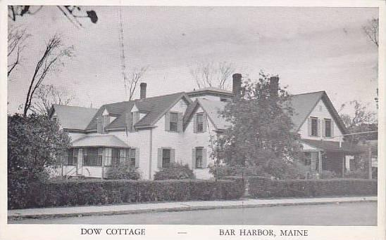 Maine Andover Bar Harbor Dow Cottage 227 Main Street
