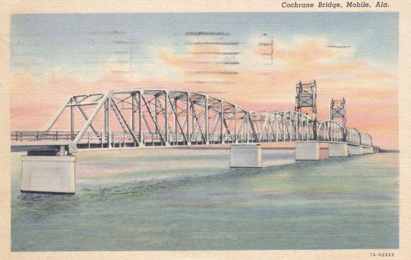 MOBILE , Alabama , PU-1940; Cochrane Bridge