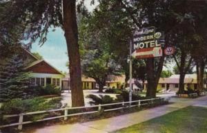 Colorado Canon City Park Lane Motel 1965