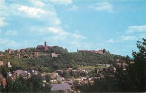 Cincinatti Ohio Mt Adams From Sycamore Hill 1950s