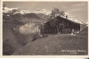 Ferienheim Restiberg ob Linthal 1935