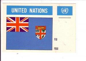 Fiji, Flag, United Nations