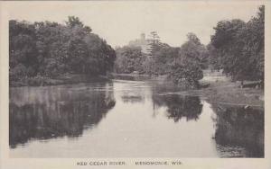 Wisconsin Menomonie Red Cedar River Albertype