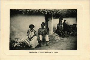 CPA Majunga- Famille indigene au Camp MADAGASCAR (819240)