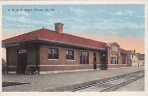 Illinois Ottawa C B & Q Railroad Depot