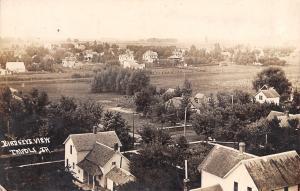 Tripoli Iowa~Birdseye View~Homes~Backyards~Bella Having Fine Time~1916 RPPC