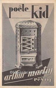 Poele Kid Arthur Martin Revin Advertising Unused