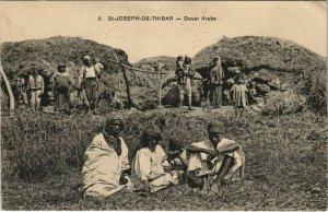 CPA AK TUNISIE St-JOSEPH DE THIBAR Douar Arade (153388)