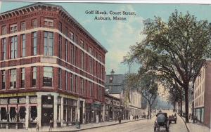 Goff Block , Court Street , AUBURN , Maine , 00-10s
