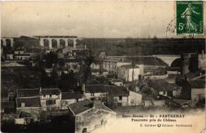 CPA Deux-Sevres - PARTHENAY - Panorama pris du Chateau (297448)