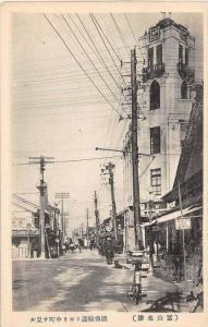 11148   Japan Osaka  early Street scene