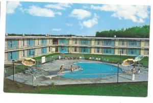 Holiday Inn Motel Newark Delaware DE Swimming Pool 1976
