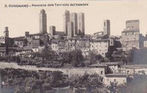 RP, Panorama Delle Torri Visto Dall'Ospedale, S. Gimignano (Siena) Tuscany, I...