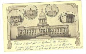5-Views, New State House, Now Building, Louisville, Kentucky, PU-1907