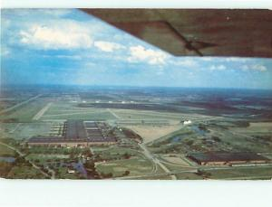 Postcard GM Plant Willow Run Airport # 1159A