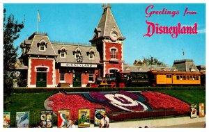 California  Disneyland , Entrance Magic Kingdom