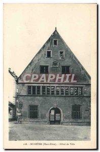 Postcard Munster Old City Hall