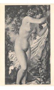 Gisbert Palmie Painting Into the Wind Im Winde Heinrich Hoffman 4X6 RP Postcard