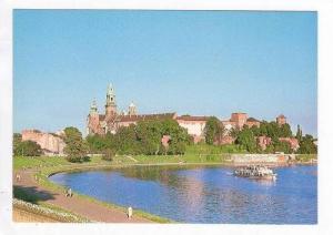 Wawel-Widok Od Strony Wisly,Krakow,Poland,1940-60s