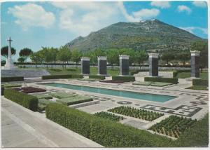 Italy, CASSINO, Cimitero Militare Inglese, English Militray Cemetery, Postcard