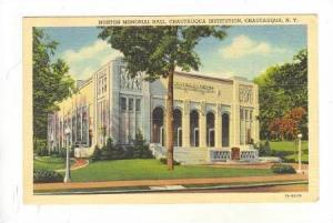 Norton Memorial Hall, Chautauqua Institution, Chautauqua, New York, PU-30-40s